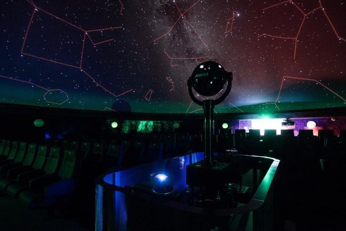 Při návštěvě ostravského planetária se můžete dotknout hvězdné oblohy