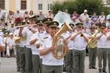 Kroměříž přivítá vojenské hudby z Česka, Slovenska a Polska, dorazí i motorky Hradní stráže