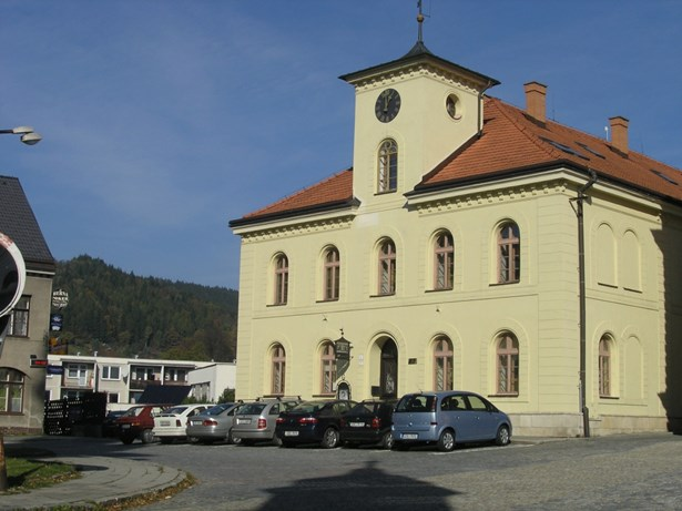 Popis: Galerie Stará radnice ve Vsetíně.