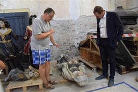 V kapli hradu Kámen skončily archeologické práce. Na jediné dva dny se otevře veřejnosti