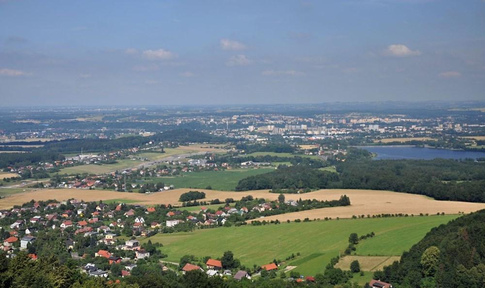 Výhled z rozhledny Panorama.