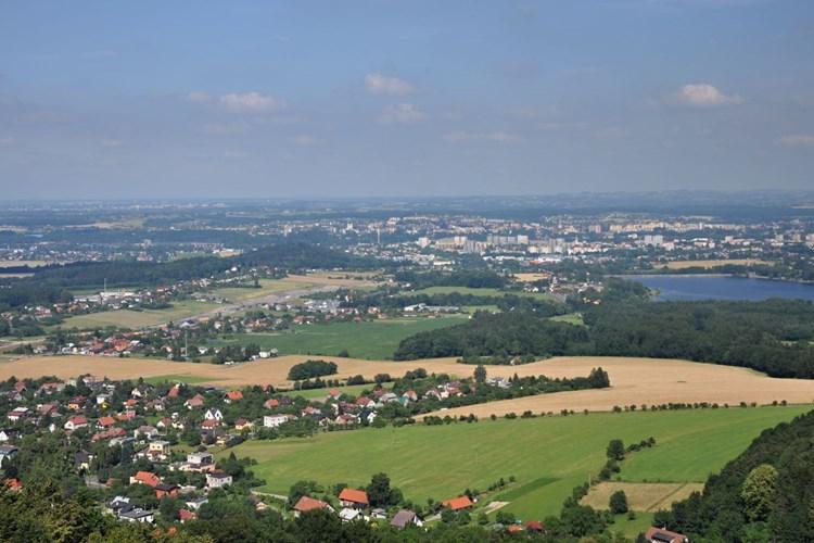 Rozhledna Panorama v Chlebovicích nabízí krásný výhled na Frýdek-Místek