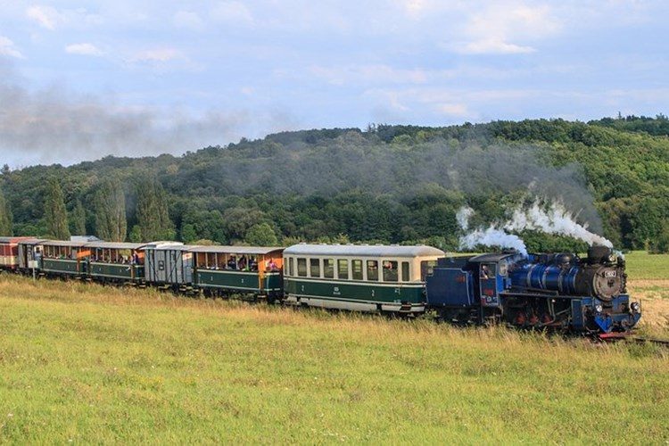 Osoblažská úzkokolejka nabízí také průjezd nejmenším obloukem na českých železnicích