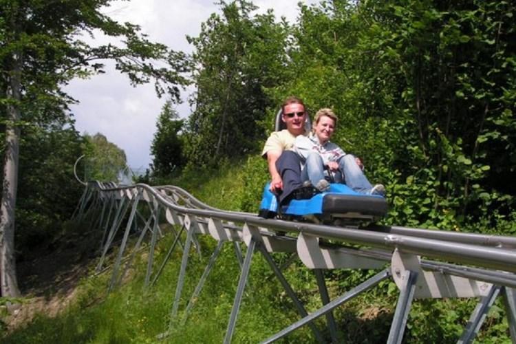 Rychlá jízda spojená s adrenalinem. Taková je bobová dráha v Mostech u Jablunkova