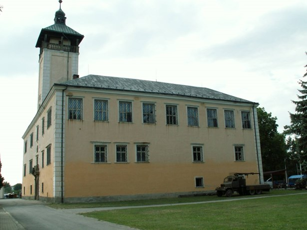 Popis: Zámek Dřevohostice.