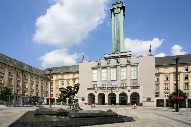 Nejvyšší radniční věž v Česku nabízí nádherný rozhled na celou Ostravu