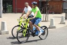 Kladeňáci si sdílená kola oblíbili – denně se vydají na stovky jízd