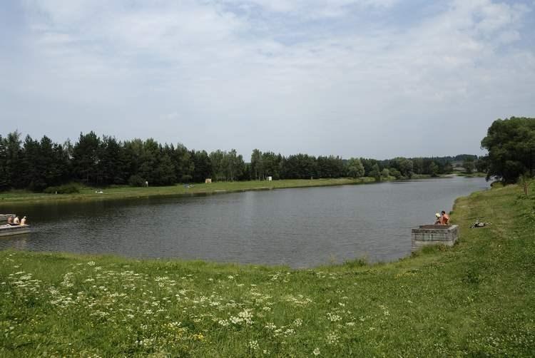Brušperská přehrada.