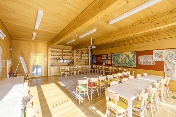 Popis: Učebna centra Sluňákov.