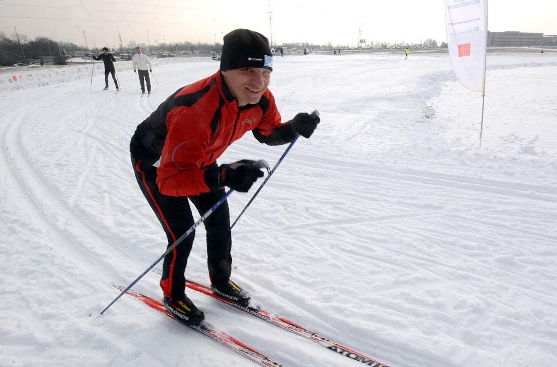 Běžkařský okruh v Praze: Opět se lyžuje na Vypichu