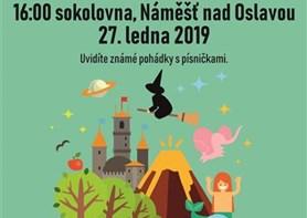 Pohádky z truhličky pobaví děti v Náměšti nad Oslavou