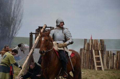 Popis: Zimní bitva v Podbořanech.