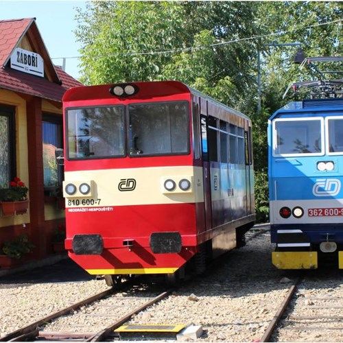 Zahradní železnice ve Vracově