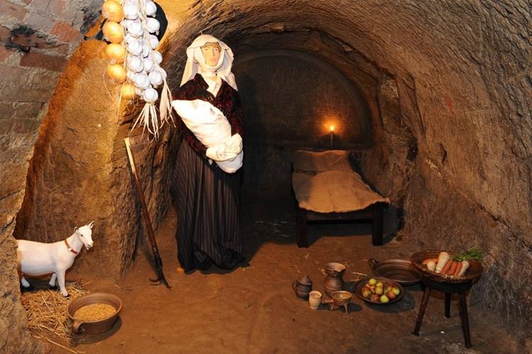Kostýmované prohlídky seznámí návštěvníky se středověkým podzemím