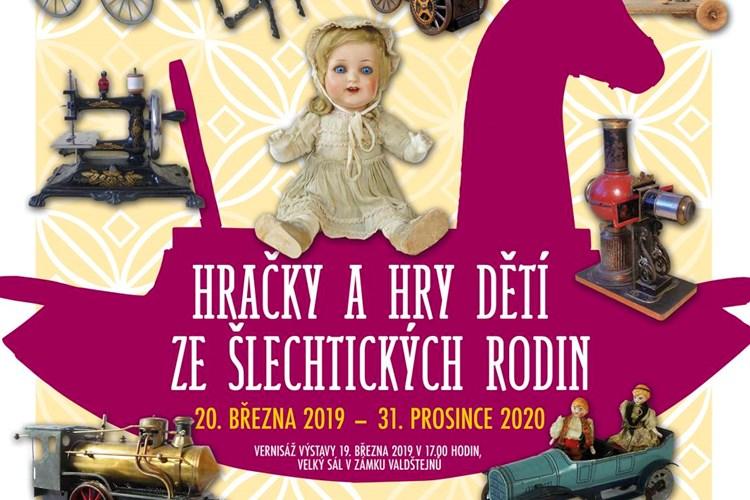 Na zámku Valdštejnů jsou vystaveny hračky a hry dětí ze šlechtických rodin