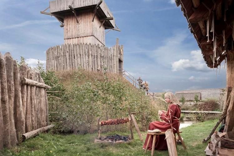 V historickém parku Bärnau-Tachov se setkáte s živým zpodobením historie. Můžete se dotýkat nábytku