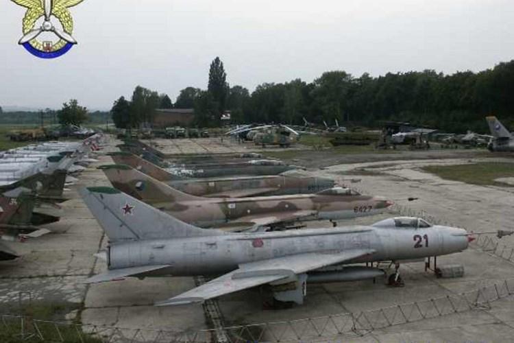 V Muzeu letecké a pozemní techniky uvidíte stíhací, bombardovací, transportní i průzkumná letadla