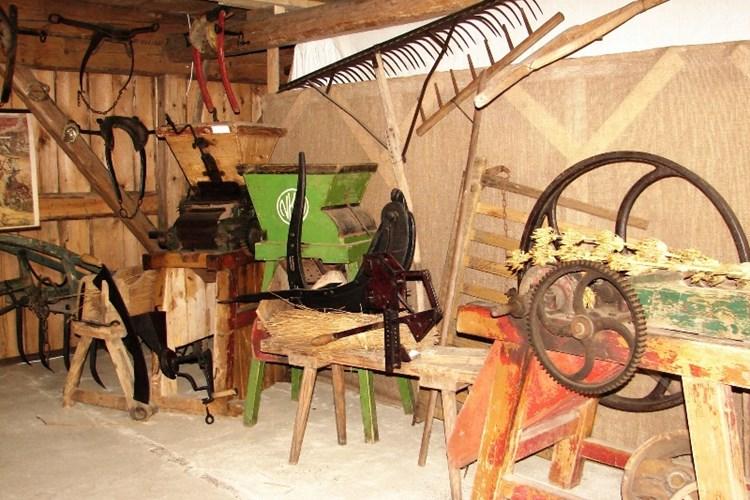 V Muzeu krkonošských řemesel je k vidění zhruba 700 exponátů z Poniklé a okolí
