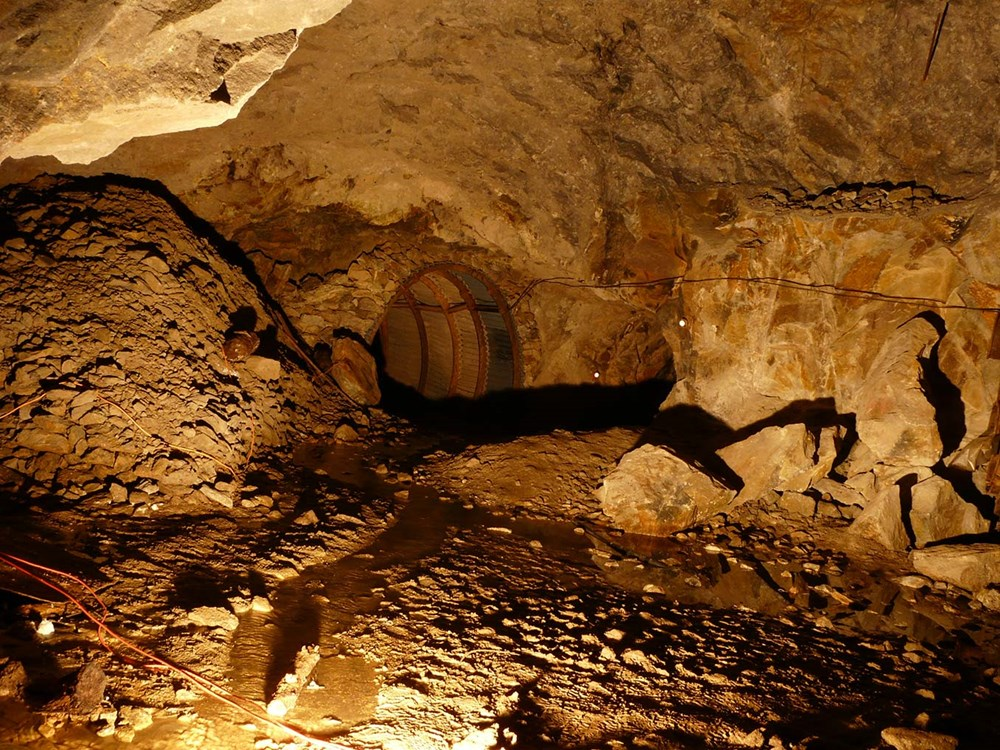 Podzemí v Dole Jeroným.