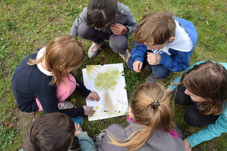 Děti na ZŠ Křižná měly svůj Den Země