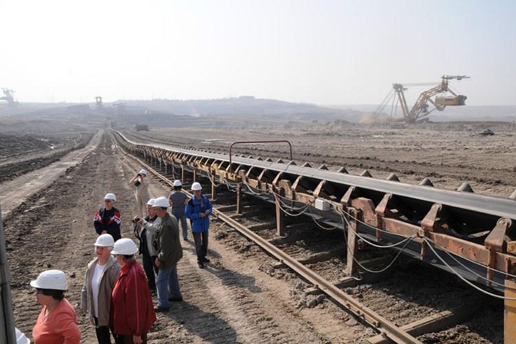 Uhelné Safari seznamuje s technologií těžby hnědého uhlí