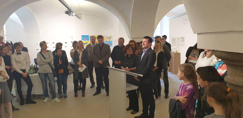 Českobudějovičtí školáci představují svá díla v Pasově
