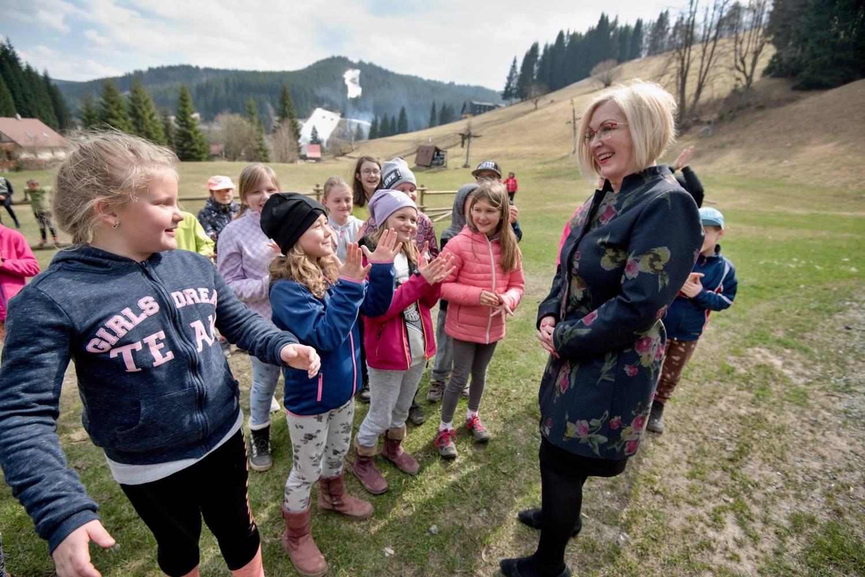 Žáci základních škol a děti z mateřinek si mohou užívat pobytu na čerstvém vzduchu