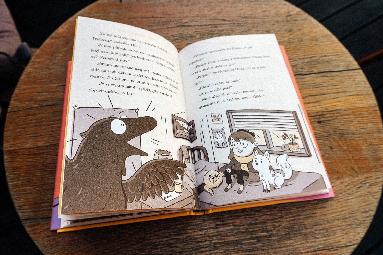 Knižní série s Hildou pokračuje. Nový komiks vyjde česky v celosvětové souhře