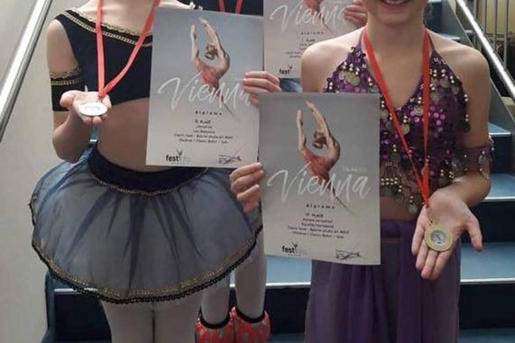 Žákyně Baletního studia ovládly vídeňskou taneční soutěž